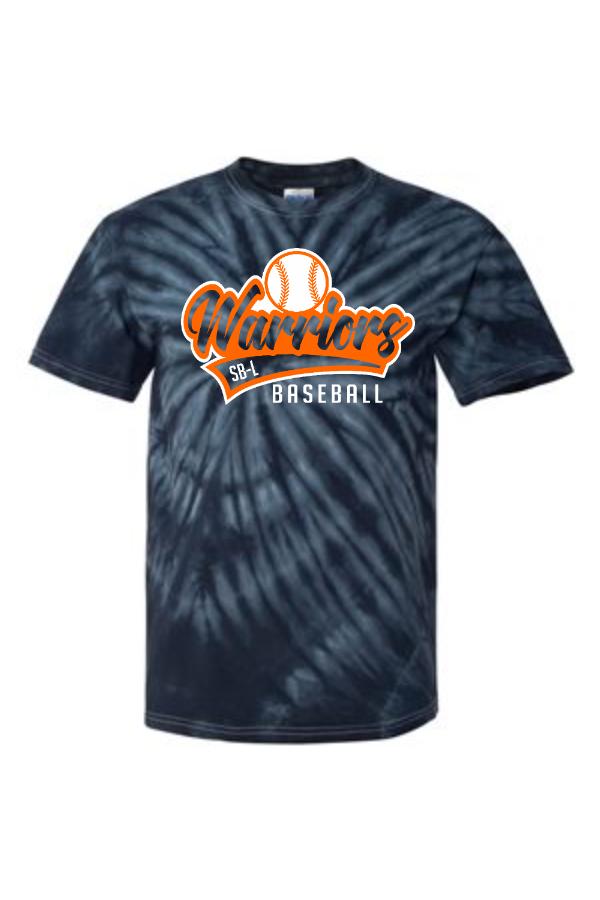 SBL Baseball Script Tail Tie-Dyed T-Shirt