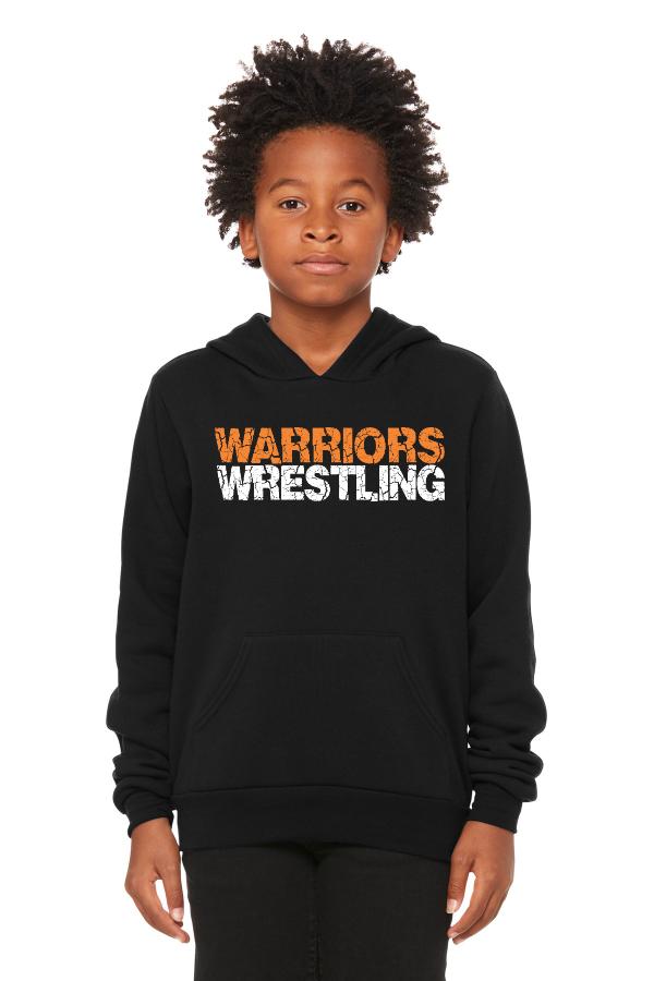 Warriors Wrestling Youth Hoodie