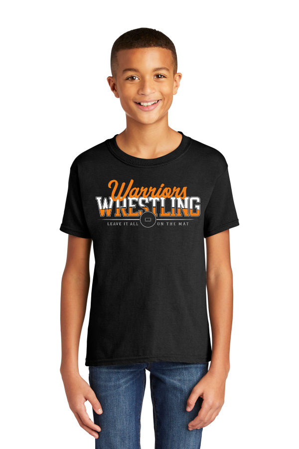 Leave it All on the Mat Youth Tee