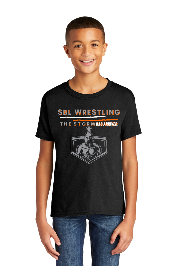 SBL Wrestling Storm Youth Tee