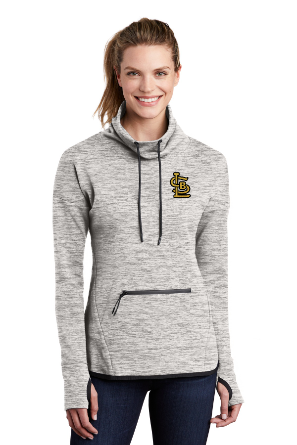 SBL Baseball Cowl Neck Pullover - Embroidered