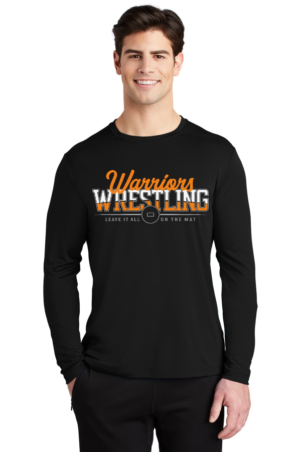 Leave It All on the Mat Unisex Long Sleeve Performance Tee