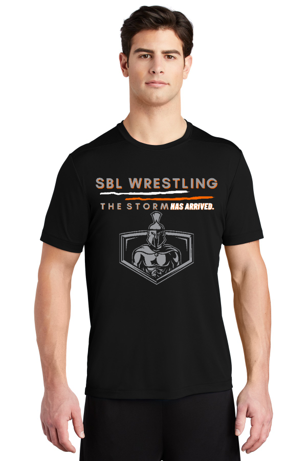 SBL Wrestling Storm Unisex Performance Tee