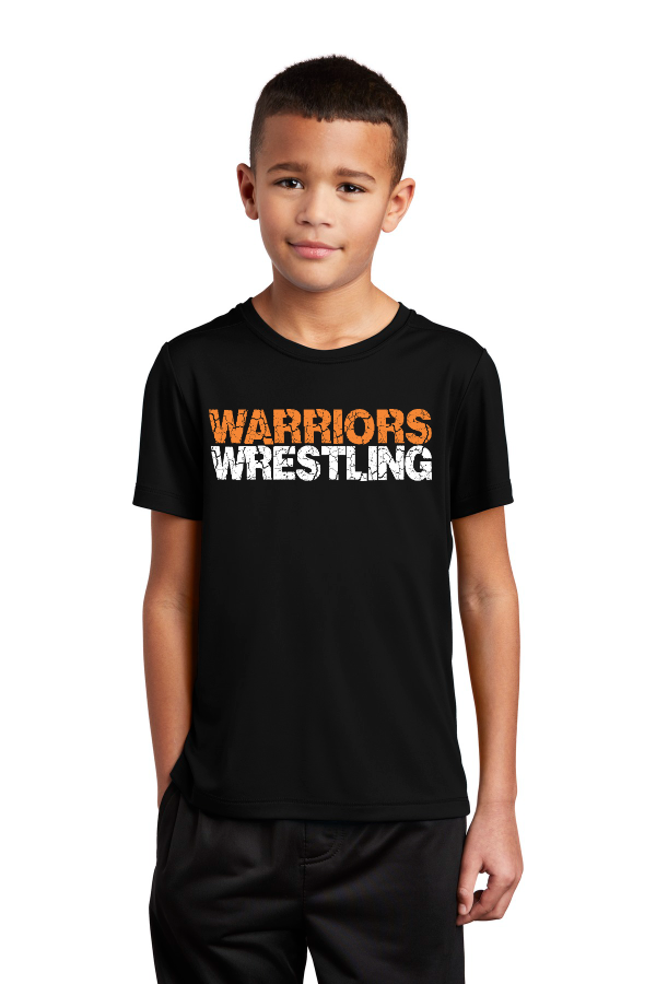 Warrior Wrestling Youth Performance Tee