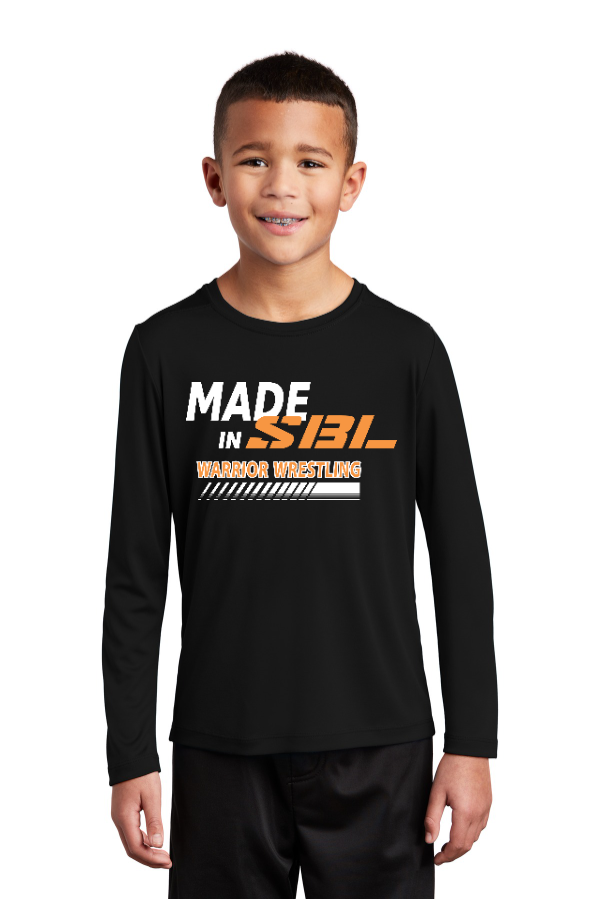 SBL Wrestling Storm Youth Long Sleeve Performance Tee