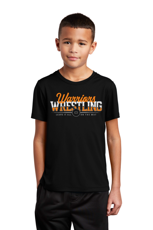 Leave It All on the Mat Youth Performance Tee