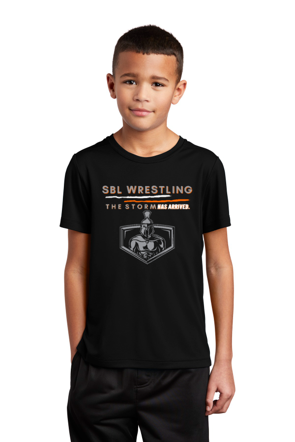 SBL Wrestling Storm Youth Performance Tee